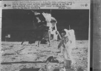 Pictures of the landing on the moon ; 1969 (Apollo 11)